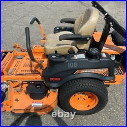Used Scag Tiger Cat STCII-52V-25CV-EFI Zero Turn Mower