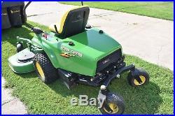 Very Nice John Deere F620 front mount zero turn lawn mower 60 deck low hours