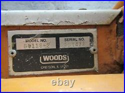 Woods 5200 Mow'n Machine Zero Turn Mower D6118 61 Mowing Deck