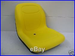 Yellow Seat For John Deere Zero Turn Mower Z Trak, M653, M655, M665,717a, 727a #il