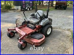 Zero Turn 60in Exmark Lawn Mower. Cash Only