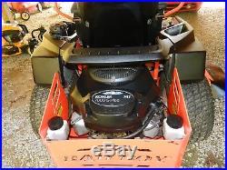 Zero Turn Bad Boy Mower 60 747 Elite Series 300 hrs. Withtransferable warranty