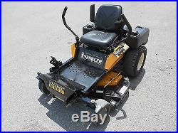 Zero Turn Lawn mower Cub Cadet Commercial ENFORCER 44 Deck Kawasaki 95 hours