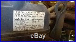 Zero turn, 72 mower and plow attachment, Hustler 4600 Kubota disel